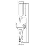 Зенковка FABA PG-02 для сверлильно-присадочных станков